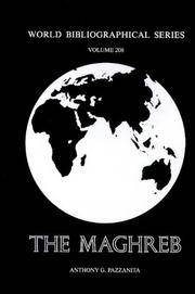 Cover of: The Maghreb