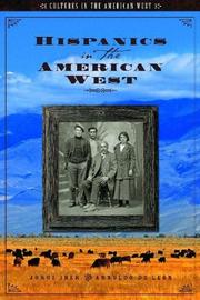 Cover of: Hispanics in the American West