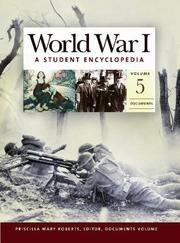 Cover of: World War I