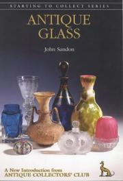 Cover of: Antique glass