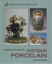 Cover of: Starting To Collect Porcelain