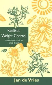 Cover of: Realistic Weight Control (By Appointment Only)
