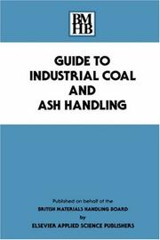 Guide to industrial coal and ash handling by British Materials Handling Board