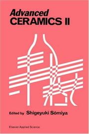 Cover of: Advanced ceramics II
