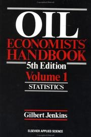 Cover of: Oil economists' handbook by Gilbert Jenkins