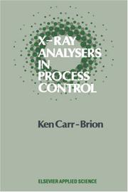 X-ray analysers in process control by K. Carr-Brion