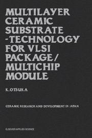 Cover of: Multilayer Ceramic Substrate - Technology for VLSI Package/Multichip Module
