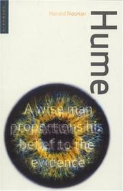 Cover of: Hume (The Oneworld Thinkers)