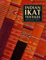 Cover of: Indian Ikat textiles