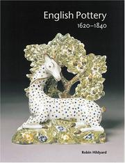 Cover of: English Pottery 1620-1840