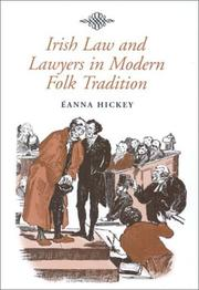 Cover of: Irish law and lawyers in modern folk tradition
