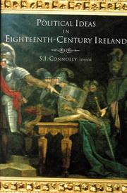 Cover of: Political ideas in eighteenth-century Ireland |