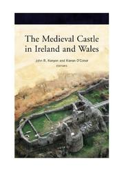 Cover of: The medieval castle in Ireland and Wales |