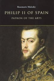 Cover of: Philip II of Spain, patron of the arts