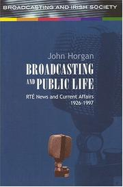 Cover of: Broadcasting and Public Life