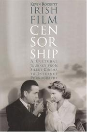 Cover of: Irish film censorship