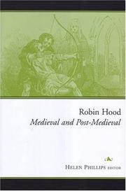 Cover of: Robin Hood | Helen Phillips