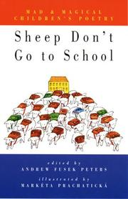 Cover of: Sheep don't go to school