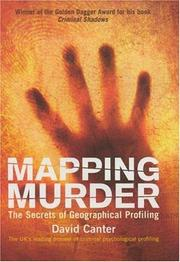 Cover of: Mapping Murder | David Canter