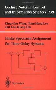 Cover of: Finite spectrum assignment for time-delay systems