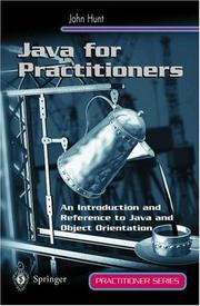 Cover of: Java for Practitioners