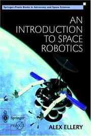 Cover of: An Introduction to Space Robotics | Alex Ellery