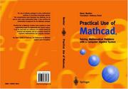 Cover of: Practical use of MATHCAD