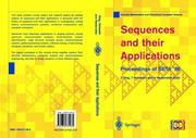 Cover of: Sequences and their applications
