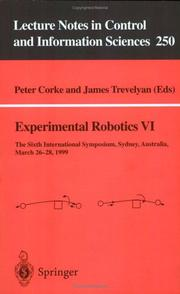 Cover of: Experimental robotics VI