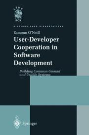 Cover of: User-developer cooperation in software development