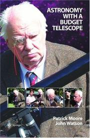 Cover of: Astronomy With a Budget Telescope | Patrick Moore