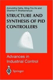 Cover of: Structure and synthesis of PID controllers