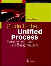 Cover of: Guide to the Unified Process Featuring UML, Java and Design Patterns