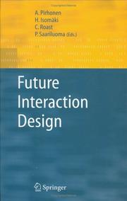 Cover of: Future interaction design by