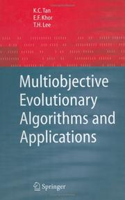 Cover of: Multiobjective Evolutionary Algorithms and Applications (Advanced Information and Knowledge Processing) | K. C. Tan