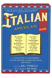 Cover of: The Italian American Reader | Bill Tonelli