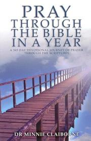 Cover of: Pray Through the Bible in a Year