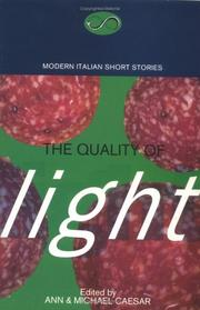 Cover of: The quality of light