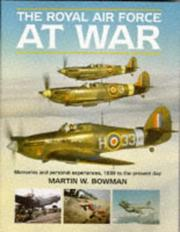 Cover of: The Royal Air Force at war