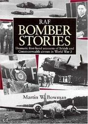 Cover of: RAF bomber stories