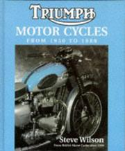 Triumph motor cycles from 1950 to 1988