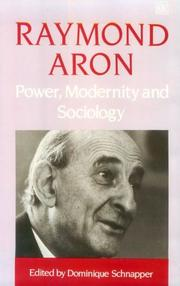 Cover of: Power, Modernity, and Sociology: selected sociological writings