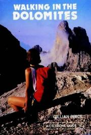 Cover of: Walking in the Dolomites