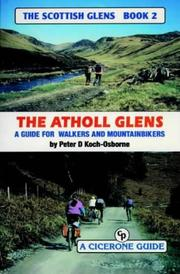 Cover of: The Atholl glens