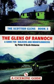 Cover of: The glens of Rannoch