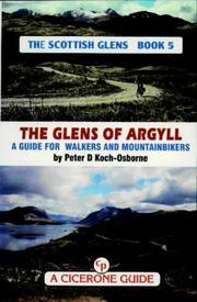 Cover of: The glens of Argyll