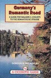 Cover of: Germany's romantic road (Romantische Strasse)