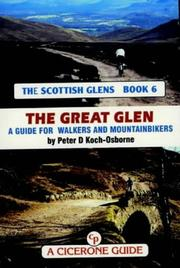Cover of: The Great Glen, Monadhliath, and Moray