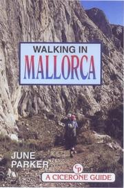 Cover of: Walking in Mallorca (Cicerone Guide) | June Parker