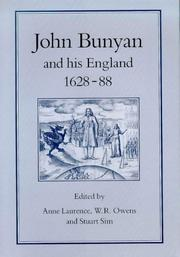 Cover of: John Bunyan and his England, 1628-88 |